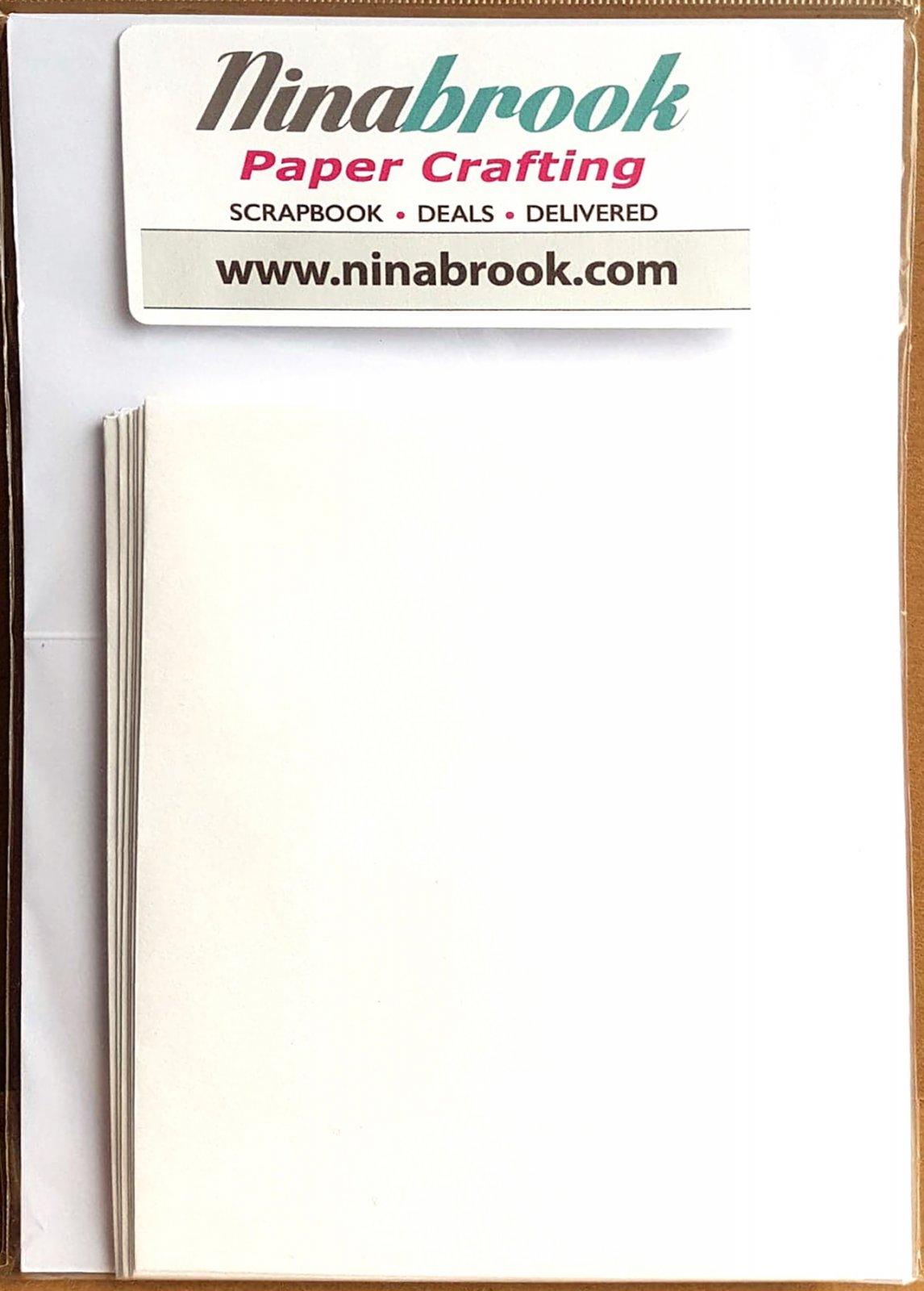 Cards and Envelopes White 10 Pack (NB)