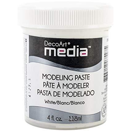 Modeling Paste - White 4 oz (DA)