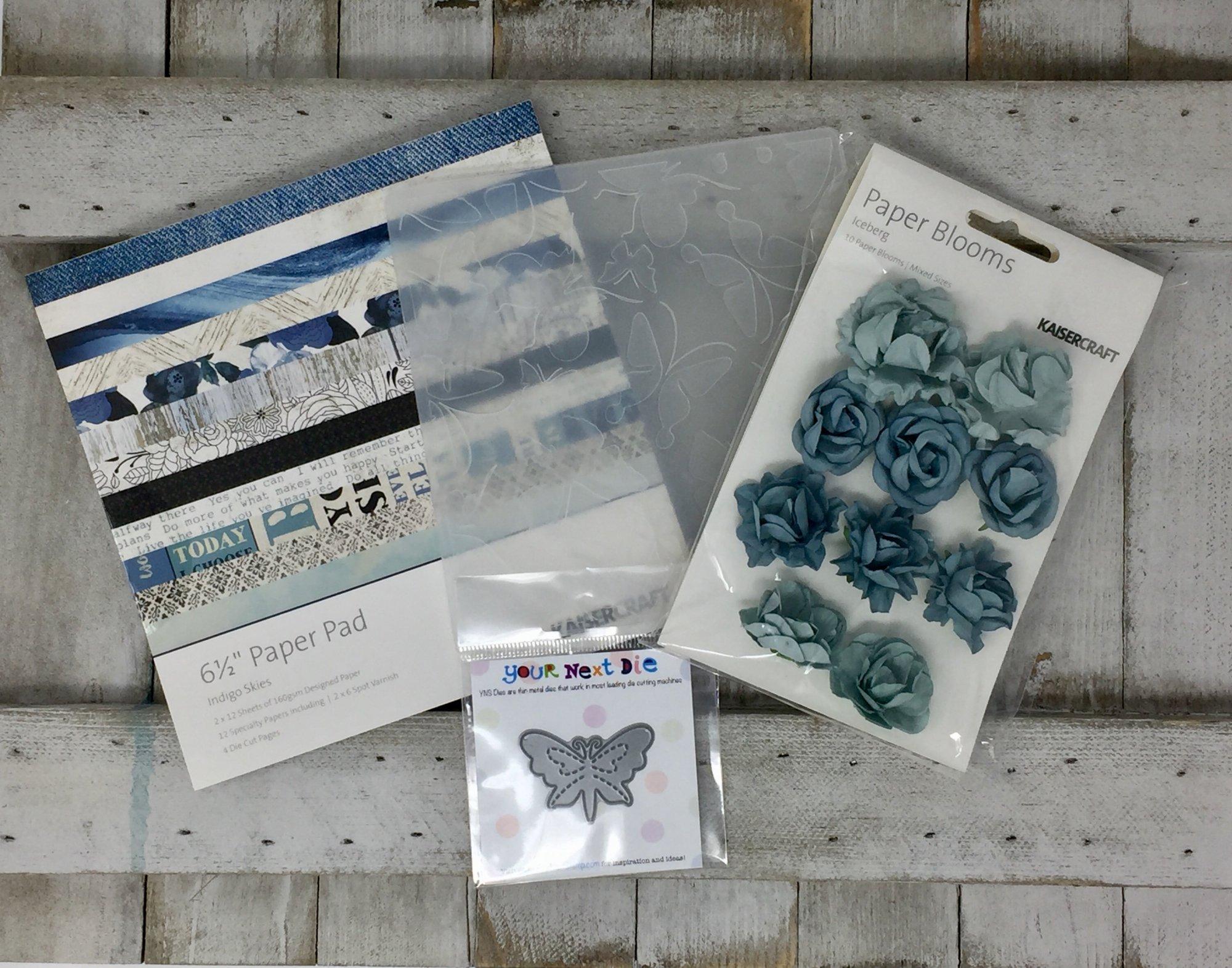 - Card Kit - Indigo Skies (KC)