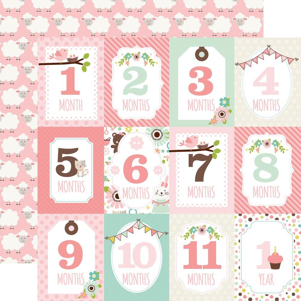 Bargain - Sweet Baby Girl - Month Cards (EP)