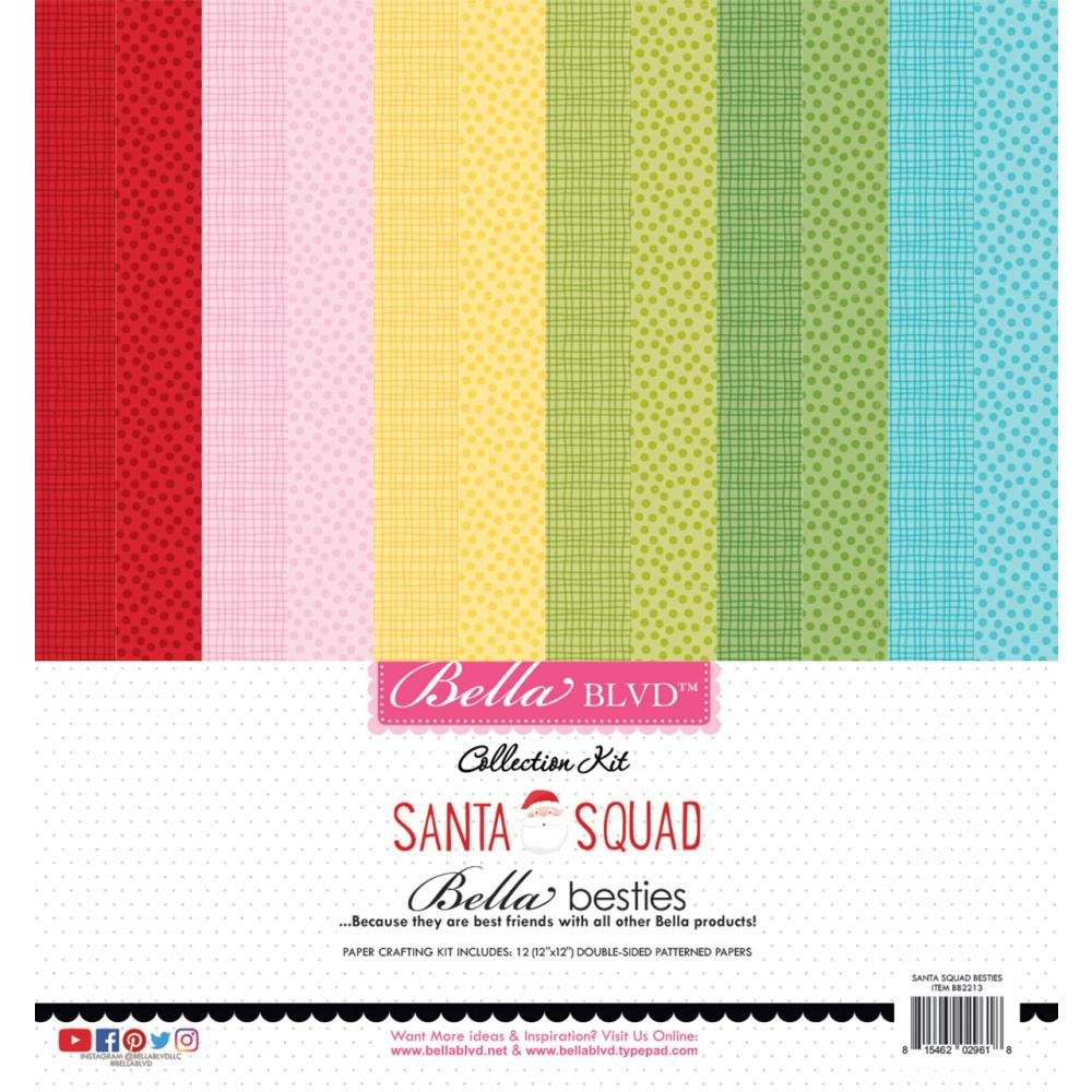 Collection Kit - Santa Squad Bella Besties 12 x 12