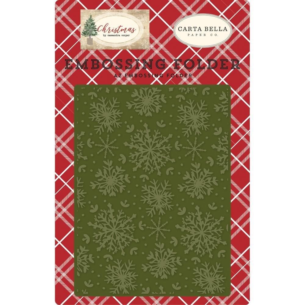 Embossing Folder - Christmas Snowflake (CB)
