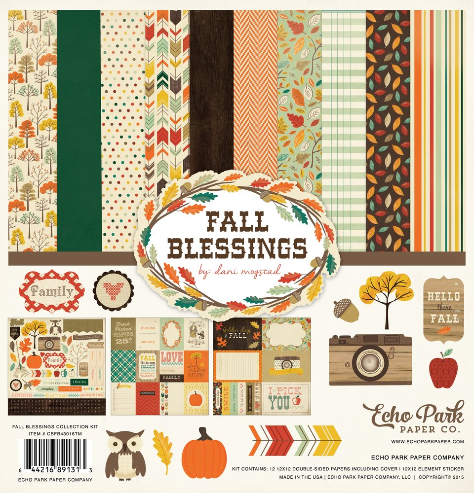Fall Blessings - 12x12 Collection Pack (Echo Park)