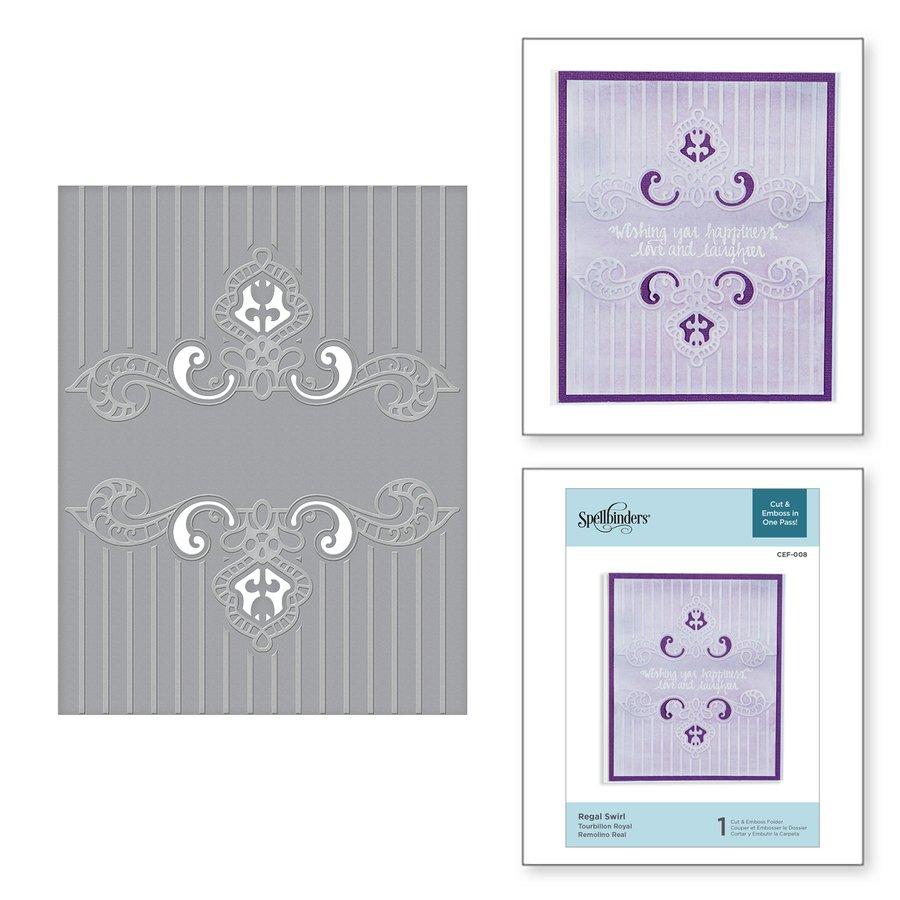 Cut & Emboss Folder - Regal Swirl (SP)