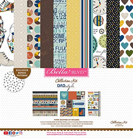 Dad Style 12x12 Collection Kit (Bella Blvd)