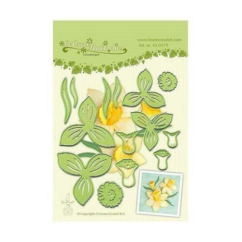 Dies/Embossing - Multi Flower Daffodil (EC)