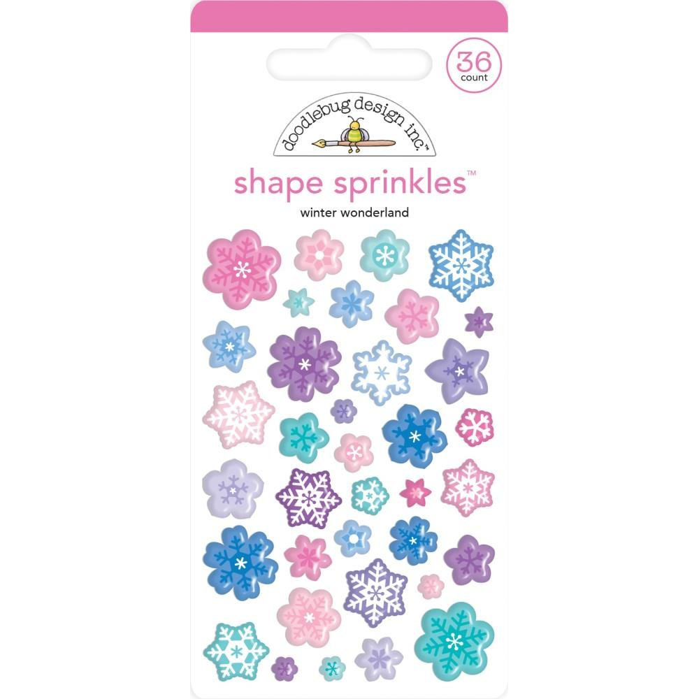 Stickers - Winter Wonderland Snowflake Sprinkles (DB)