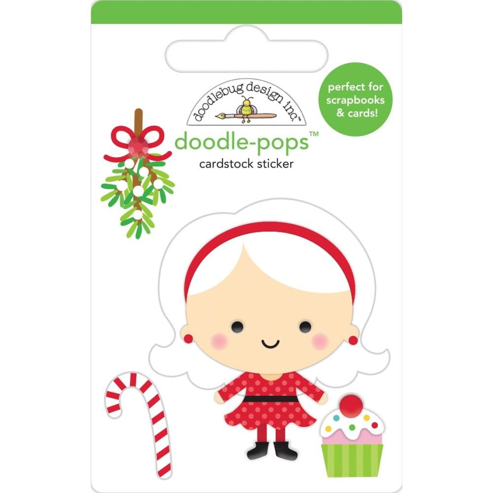 Stickers - Doodlepops - Mrs. Claus (DB)