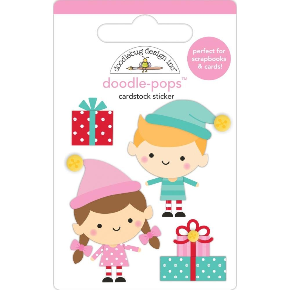 Stickers - Doodlepops - Santa's Helpers (DB)