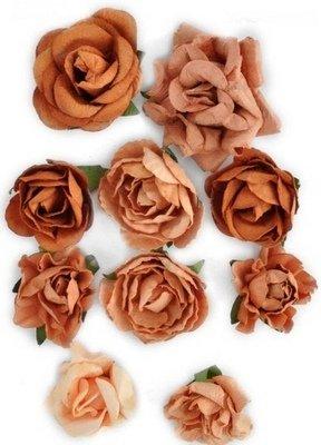 Flowers - Terracotta (KC)