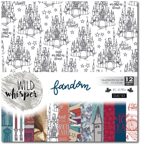 Fandom 12x12 Collection Kit - Double Pack (Wild Whisper)