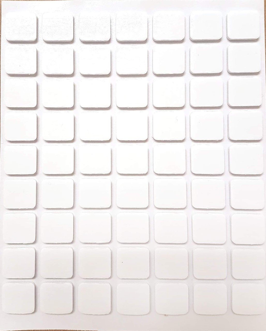 Adhesives - 3D White Foam Squares sheet  (3L)