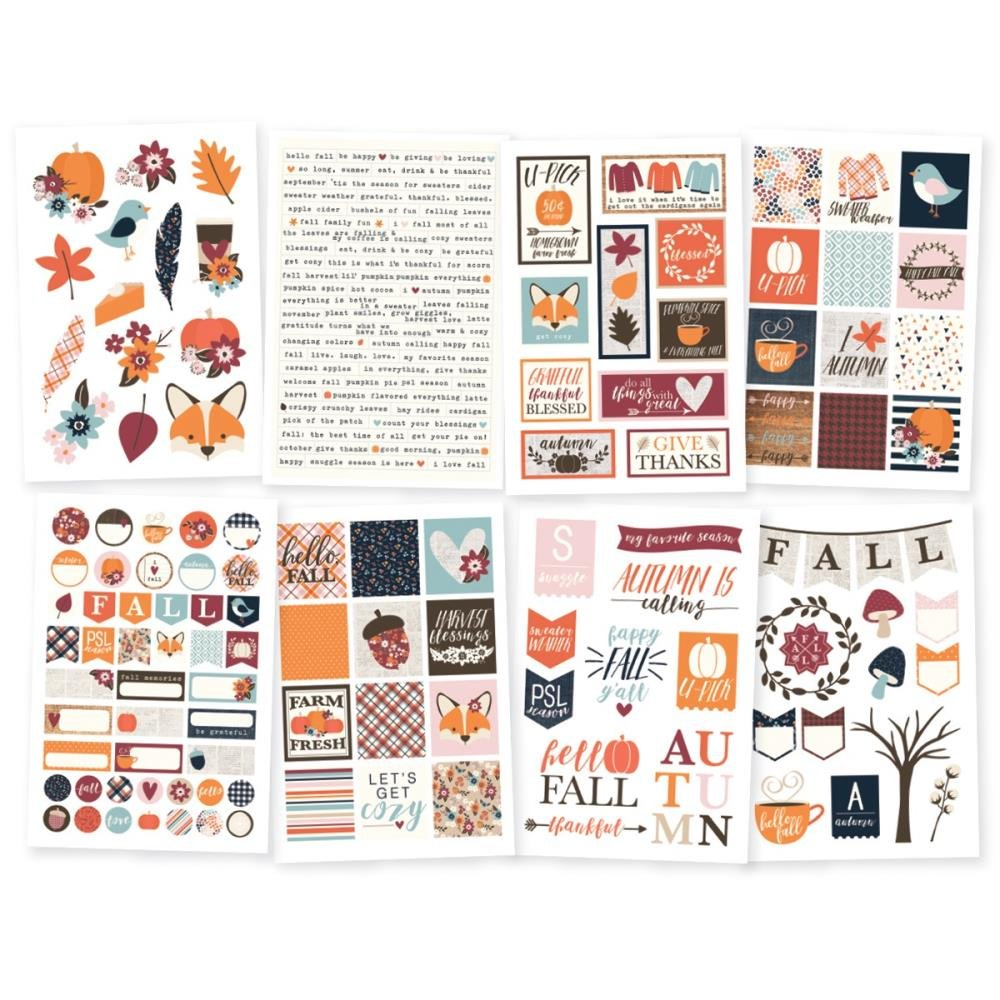 Stickers - Forever Fall, 4 x 6 Sticker Package (SS)