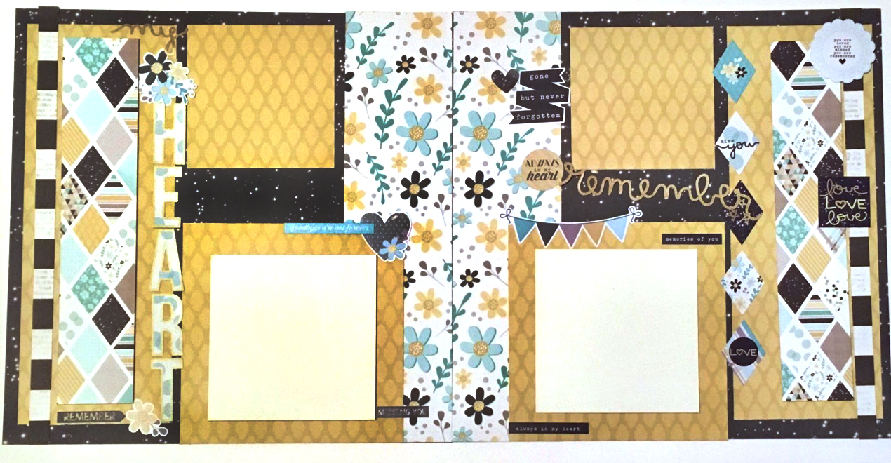 Layout Kit - My Heart Remembers (SS)
