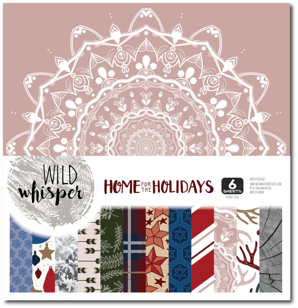 Home For The Holidays 12x12 Collection Kit (Wild Whisper)