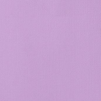 Cardstock - Lilac, 12/pk - Textured, 12x12 (American Crafts)