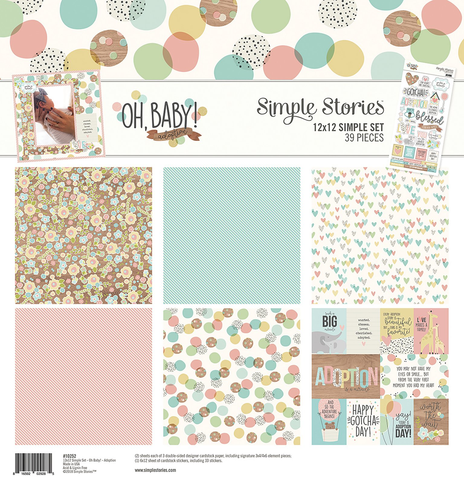 - Mini Collection Kit - Oh Baby Adoption (SS)