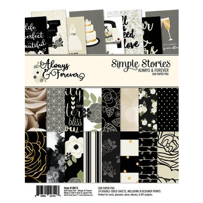 Paper Pad - Always & Forever 6x8 (SS)