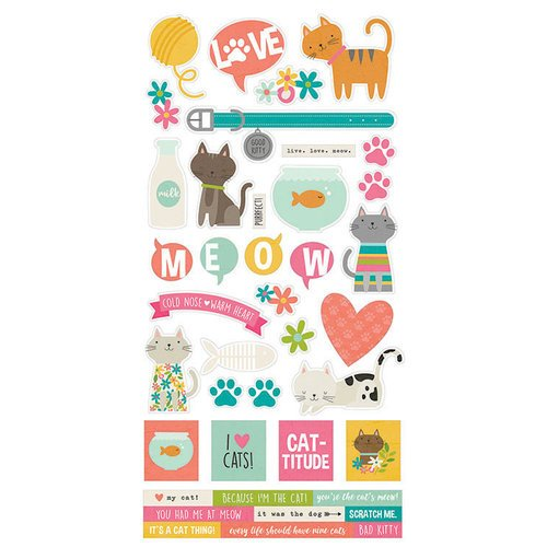 Stickers - Life is Purrfect 6x12 (SS)