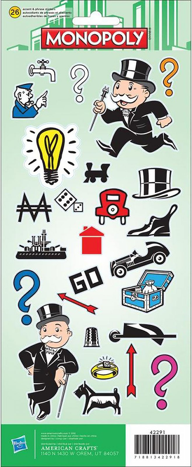 Stickers - Monopoly (AC)
