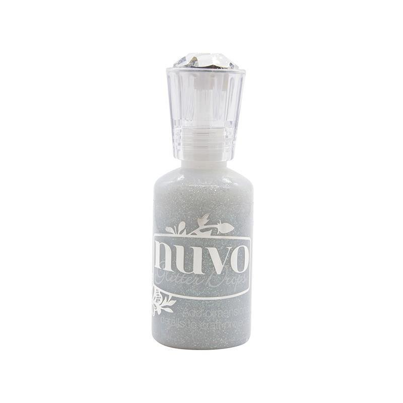 Bling - Nuvo Glitter Drops Silver Crystals (TS)