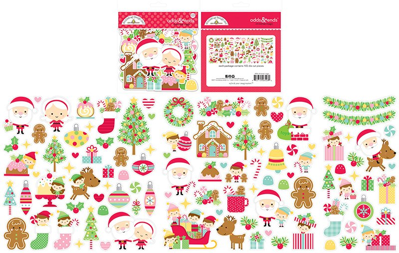 Ephemera - Christmas Magic Odds and Ends (DB)