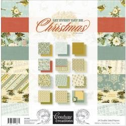 Collection Kit - Let Every Day Be Christmas 12 x 12 Pad (CC)