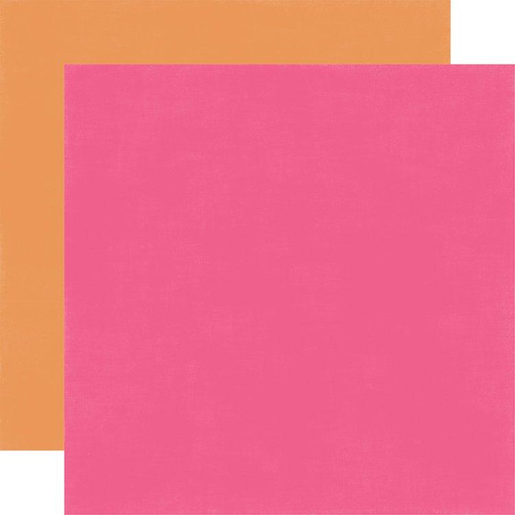 Solid Paper - Dark Pink & Orange (EP)