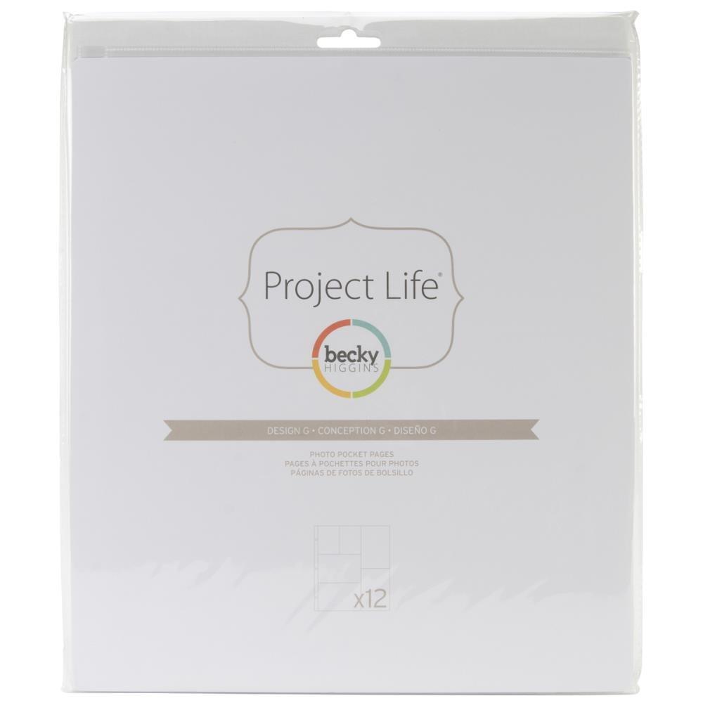 Pocket Pages -  Project Life - Design G (PL)