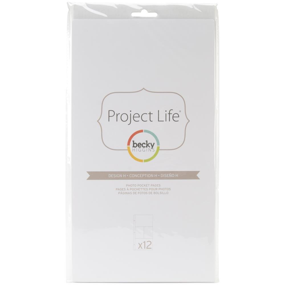 Pocket Pages - Project Life - Design H