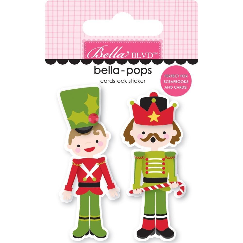 Stickers - Santa Squad Bella Pops - Nutty Or Nice (BBLVD)