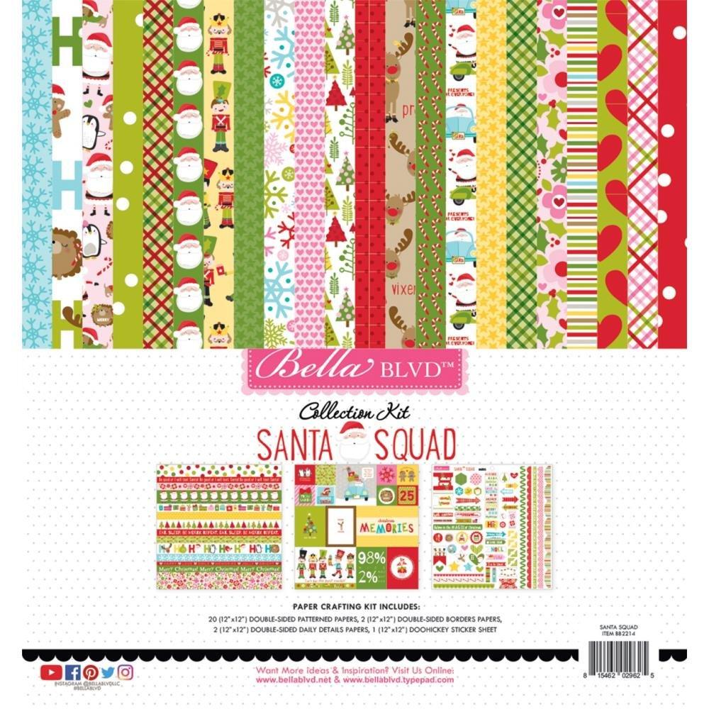 Collection Kit - Santa Squad 12 x 12