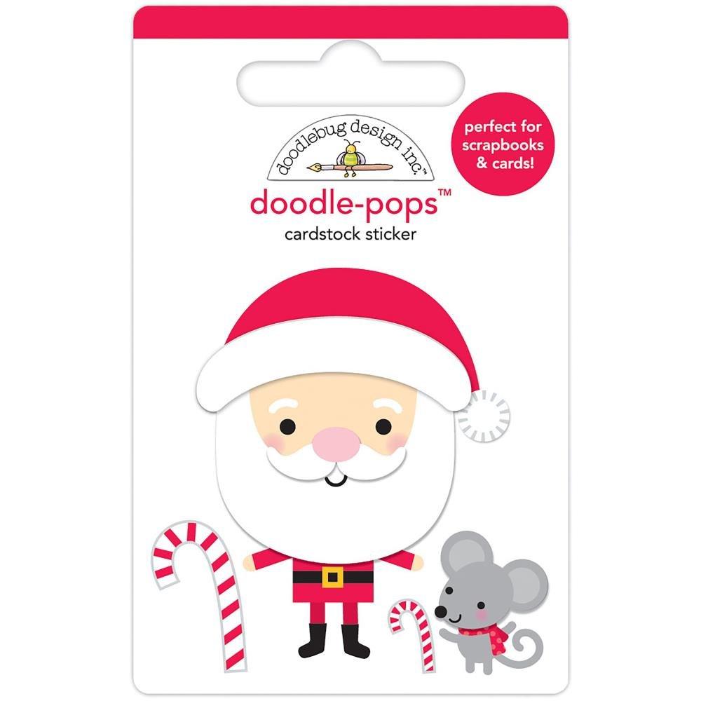 Stickers - Doodlepops - Santa (DB)