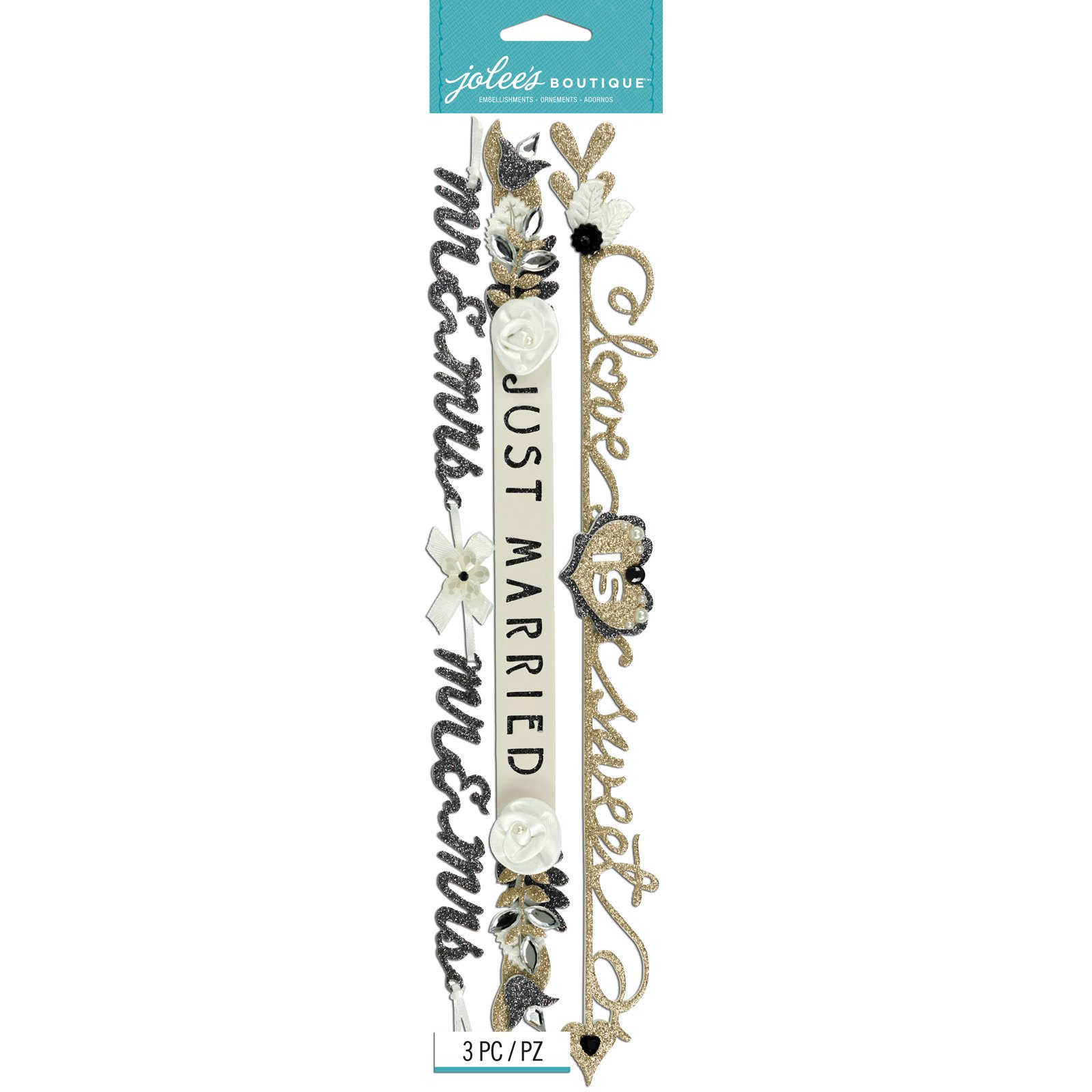 Sticker - Wedding Word Border (AC)