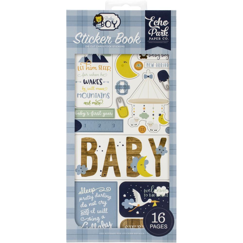 Echo Park Baby Boy - Sticker Book