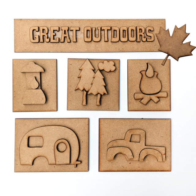 Foundations Decor - Great Outdoors Shadow Box Kit
