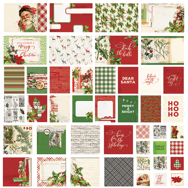 Simple Stories Simple Vintage Christmas - Sn@p! Cards