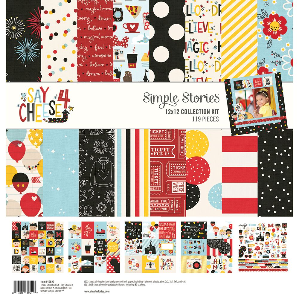 Simple Stories - Say Cheese 4 - 12 x 12 Collection Kit