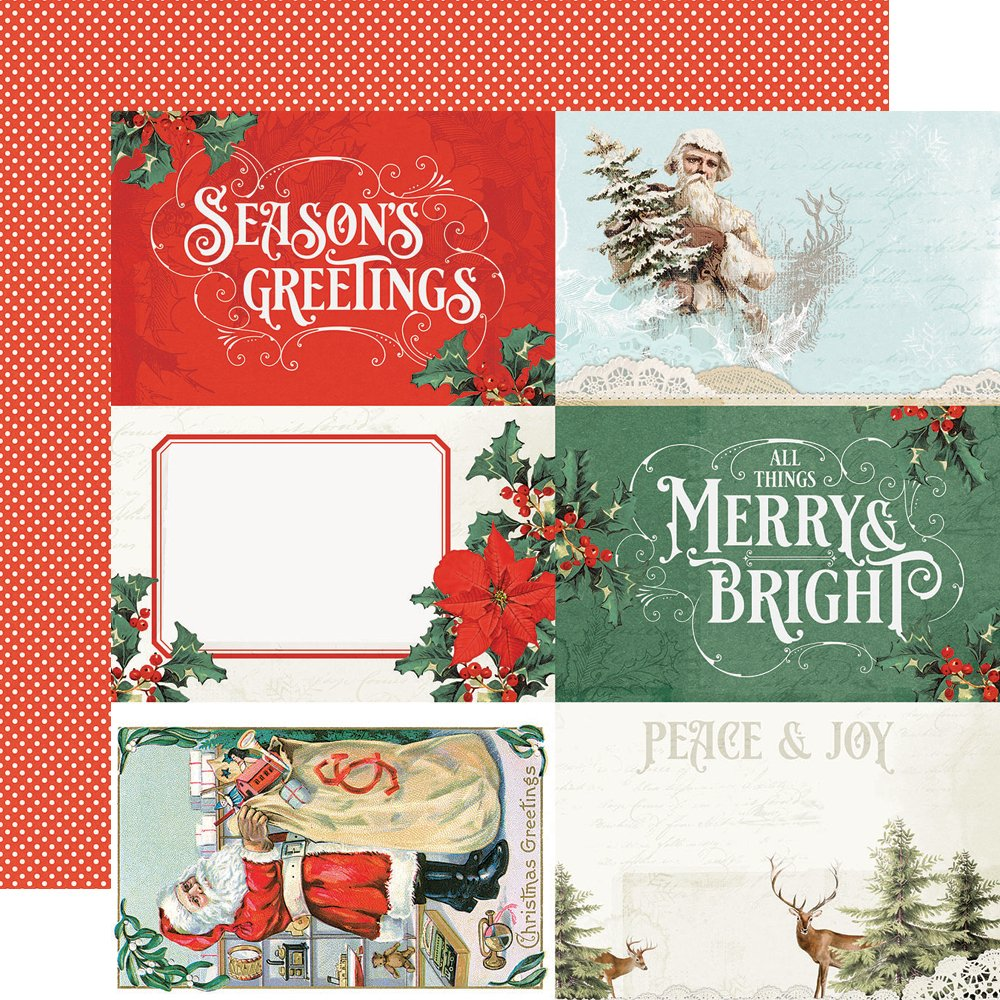 Simple Stories Country Christmas - 4x6 Elements