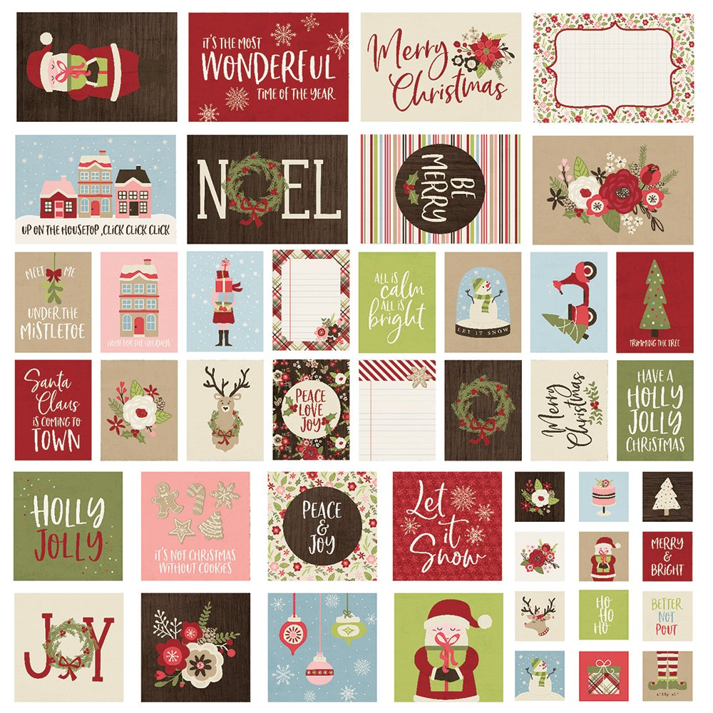 Simple Stories Holly Jolly - SNAP! Cards