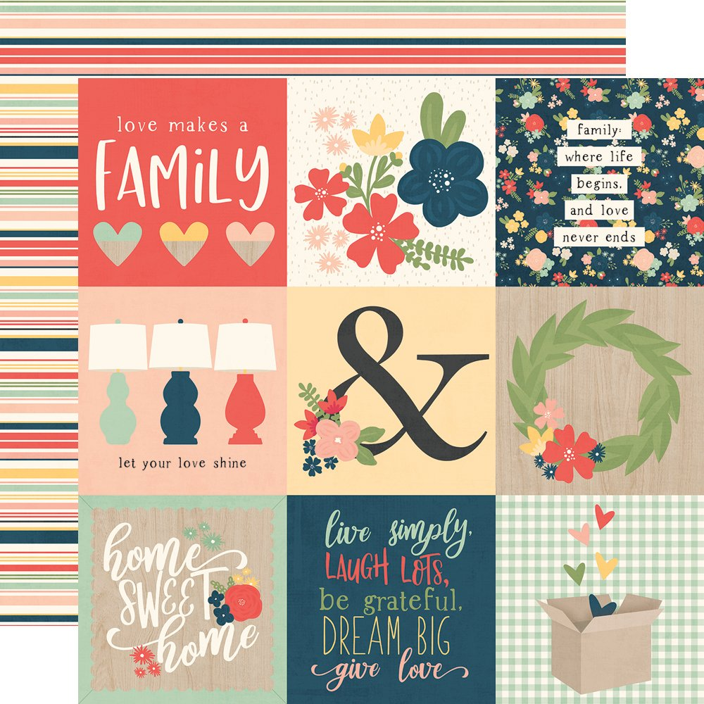 Simple Stories So Happy Together - 4x4 Elements