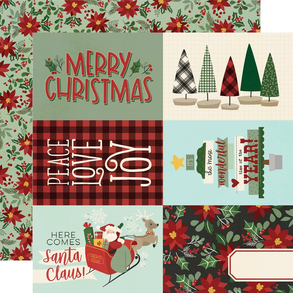 Jingle All The Way - 4x6 Elements (Simple Stories)