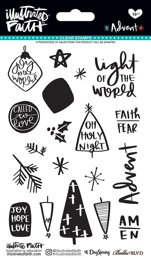 ^Illustrated Faith - Advent - Stamps