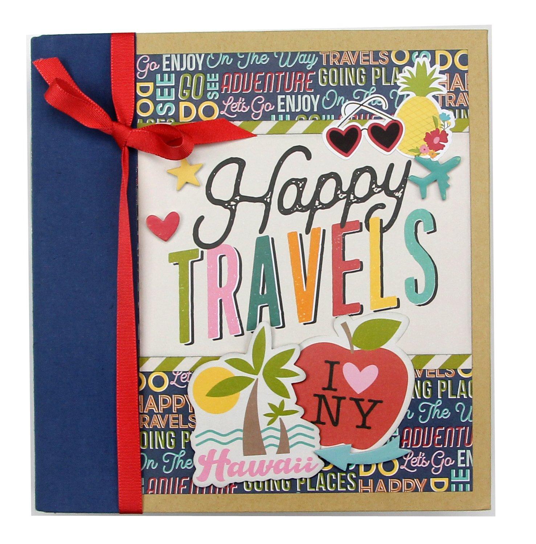 Simple Stories Going Places 6x8 Travel Album Kit