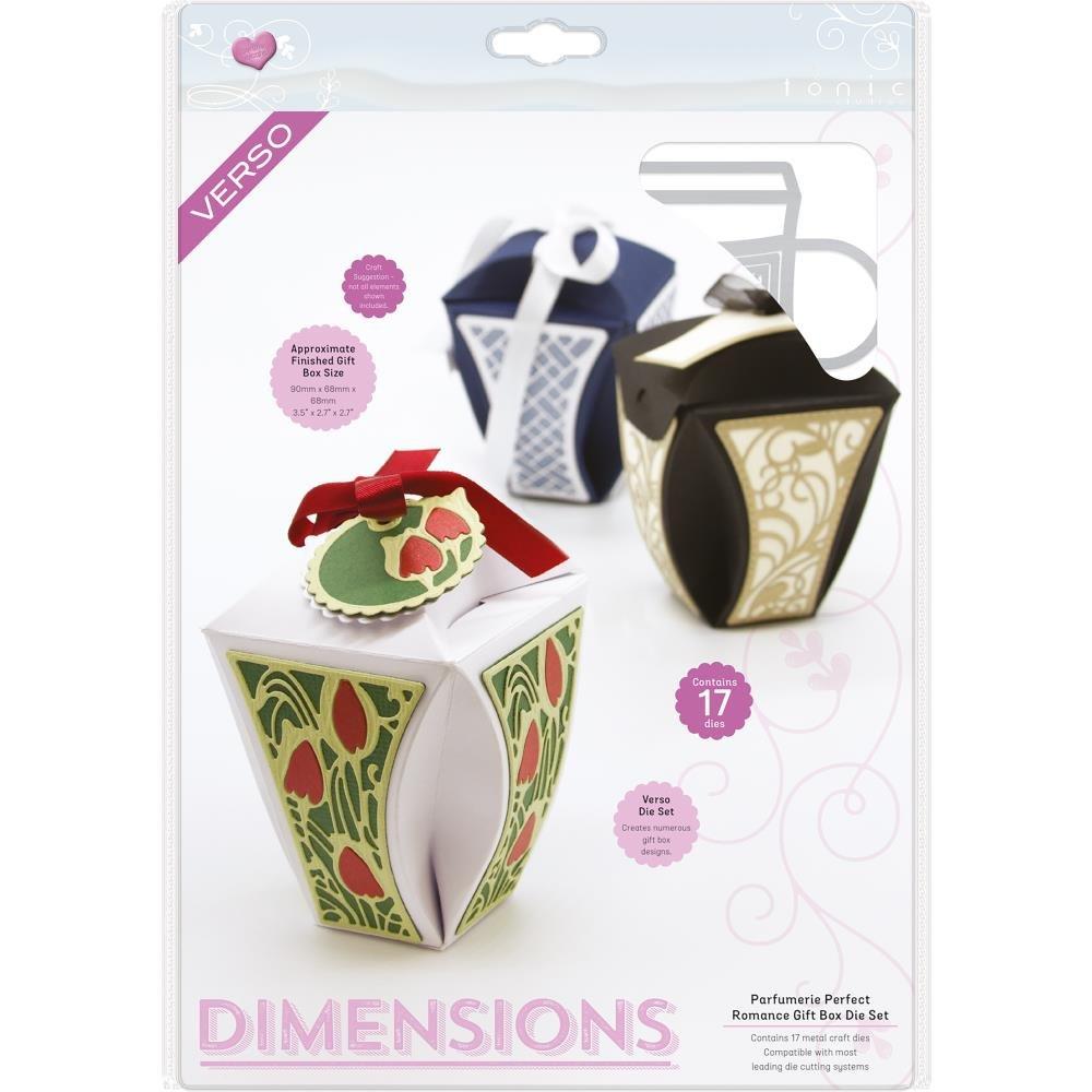 Tonic Dimensions - Parfumerie Perfect Romance Gift Box Die Set