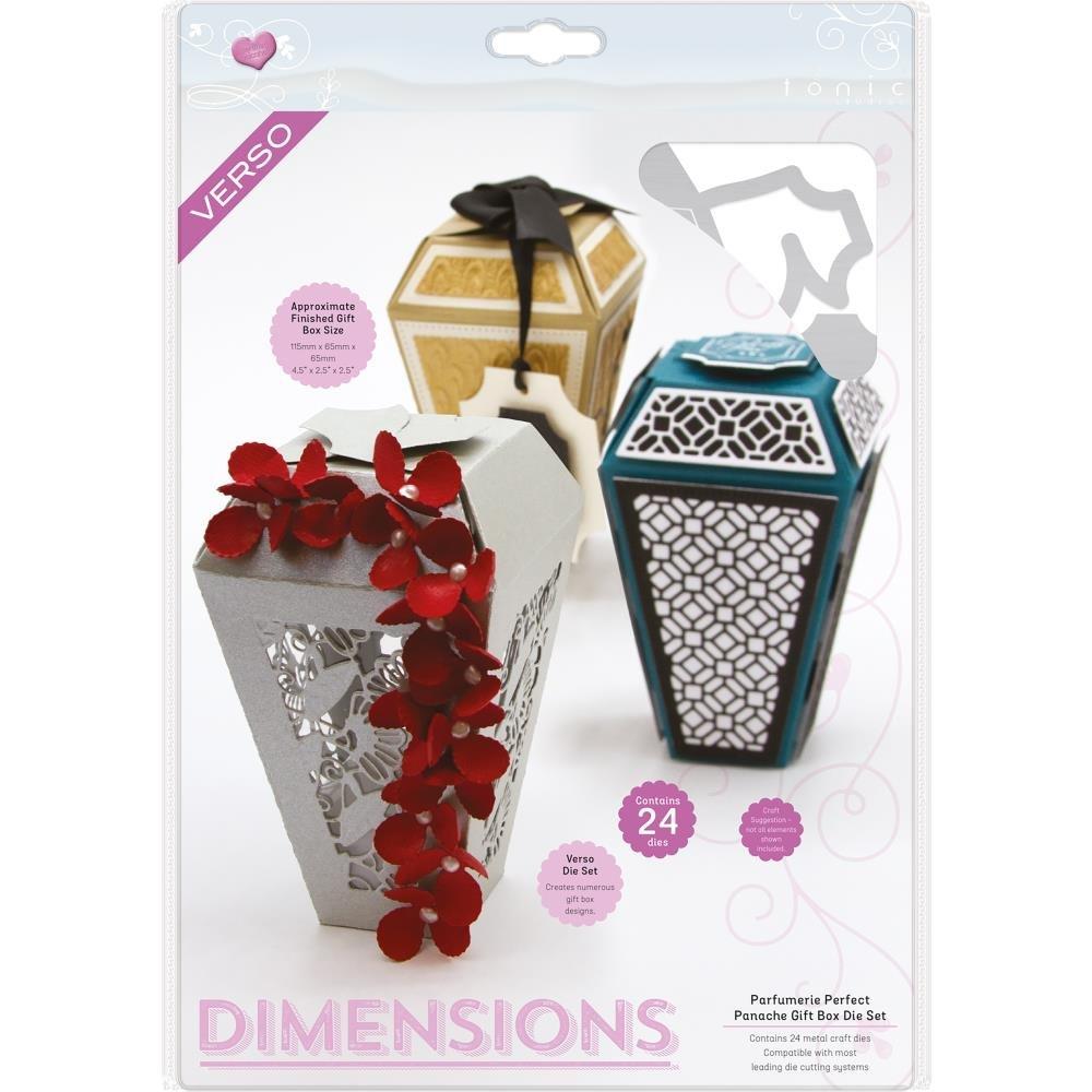 Tonic Dimensions - Parfumerie Perfect Panache Gift Box Die Set