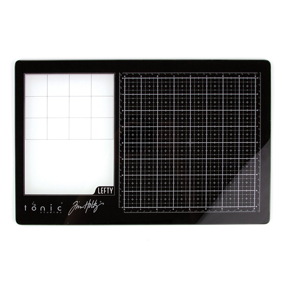 Tim Holtz - Travel Glass Media Mat, Left Handed
