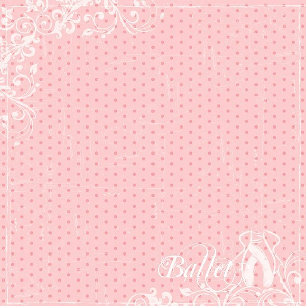Ballet Dot (Single-Sided)