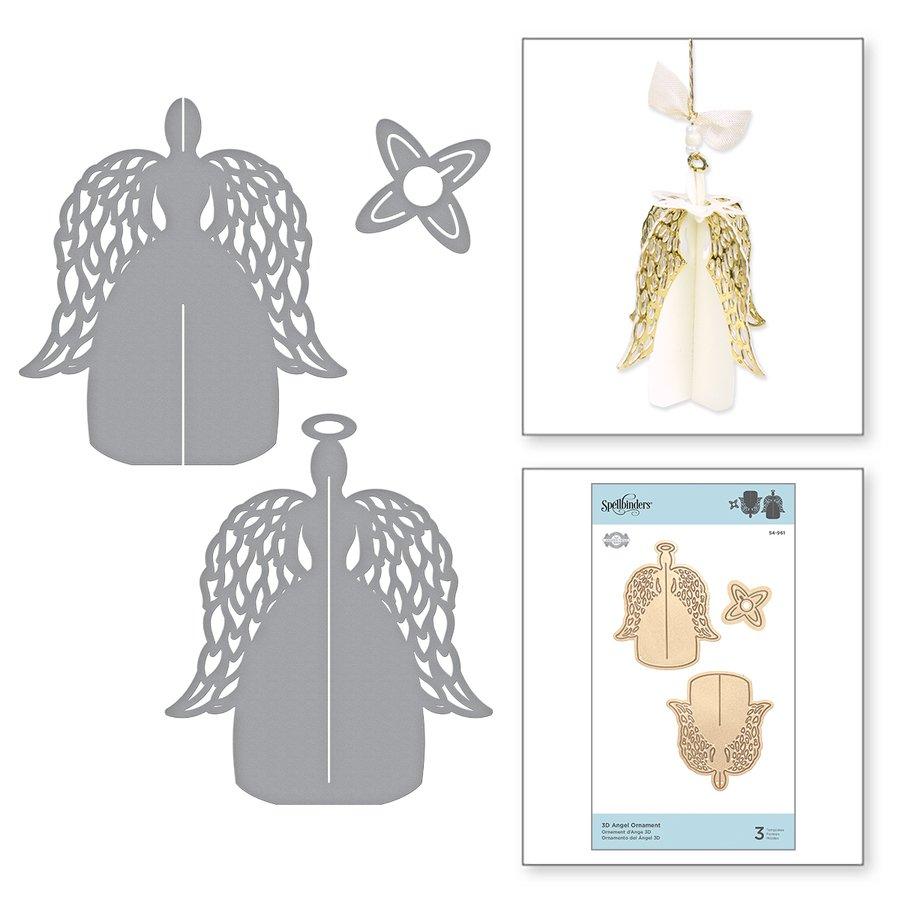 Spellbinders - Dies - 3D Angel Ornament