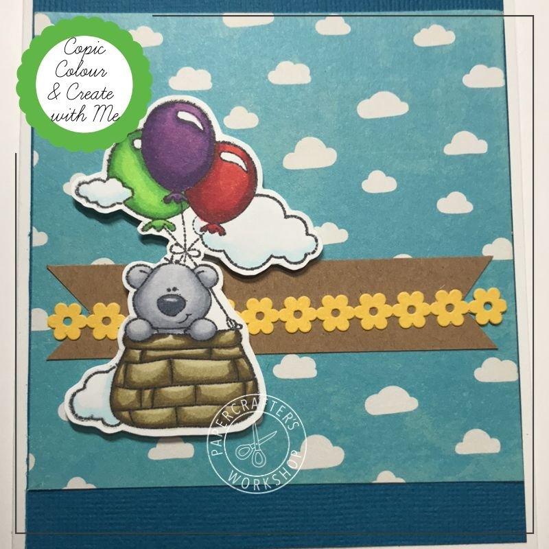 CLASS KIT:  Copic Colouring - Balloon Bear